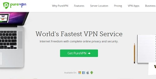 Pure VPN for iPhone