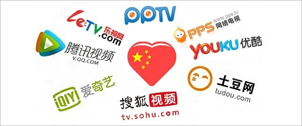 china video websites