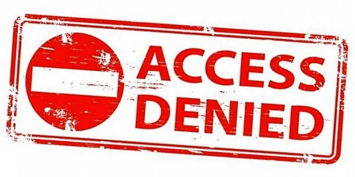 VPN access denied