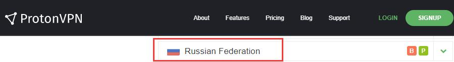 protonvpn 俄罗斯服务器