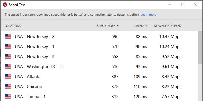 expressvpn 速度測試