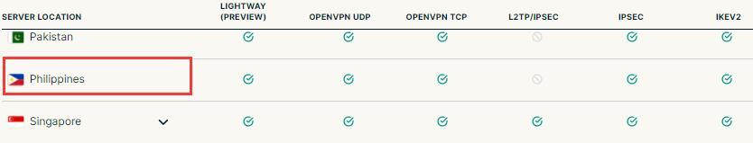 expressvpn 菲律宾VPN推荐
