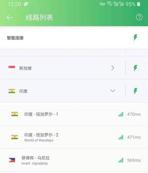 pandavpnpro 印度服务器节点